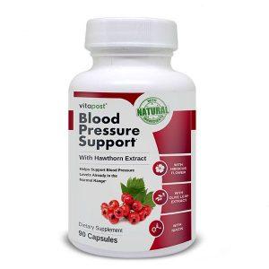 Blood Pressure Support supplement bottle